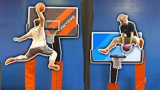 EPIC NBA SLAMBALL TRAMPOLINE BASKETBALL DUNKS