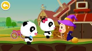 BEBY PANDA CAR RACING