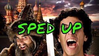 [SPED UP] Alexander the Great vs Ivan the Terrible - Epic Rap Battles of History Season 5