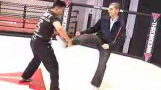 Cung Le Reenacts The Famous Shamrock Sweep