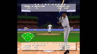 Frank Thomas Big Hurt Baseball ... (SNES) 60fps