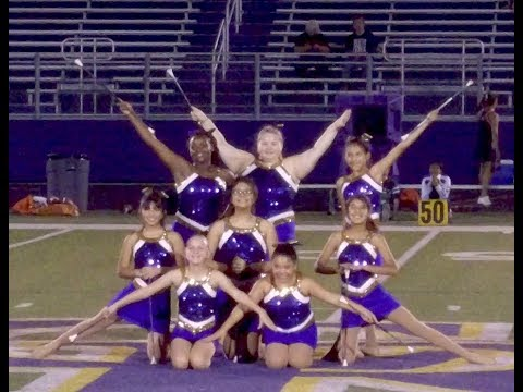 Center Junior High twirlers Sept 14 2017