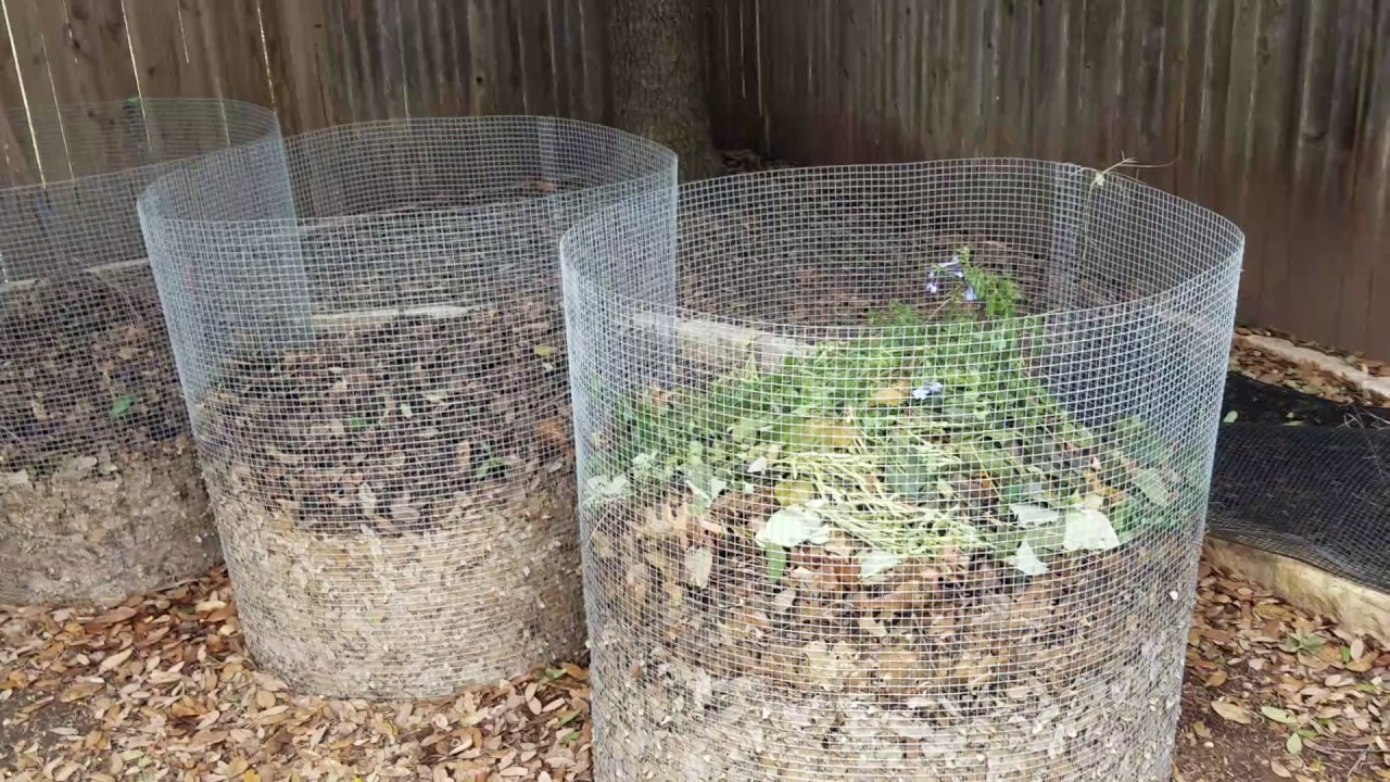 Diy compost bin fast easy and cheap youtube for How to make home decorations