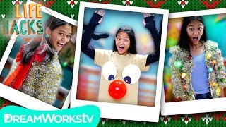Last Minute Ugly Sweater Hacks | LIFE HACKS FOR KIDS