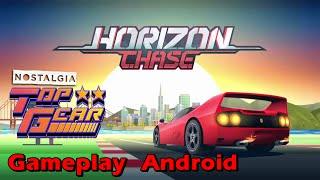 Horizon Chase Gameplay Android - Nostalgia TOP GEAR - Jogos de Corrida Android
