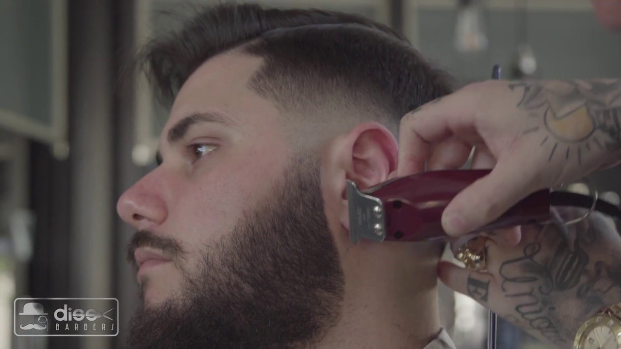Old School Cut Step By Step Diss Barbers Youtube
