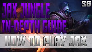 IN-DEPTH Jax Jungle Guide! | Playing From Behind | Ranked Gameplay Commentary