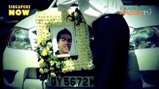 Murdered teen cremated (Darren Ng