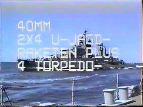 Zerstörer Rommel 1992 Teil 1