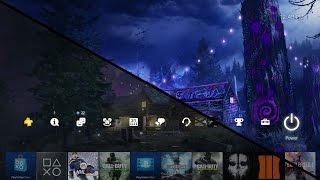 Rave In The Redwoods (Infinite Warfare Sabotage) PS4 Dynamic Theme Showcase! - How To Download!