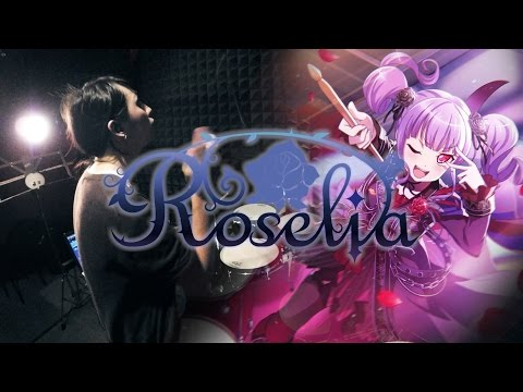 【バンドリ! 】 Roselia - LOUDER を叩いてみた/BanG Dream! Roselia - LOUDER Drum Cover