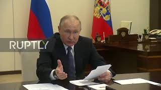 Russia: Putin calls to avoid others'mistakes in fight against coronavirus