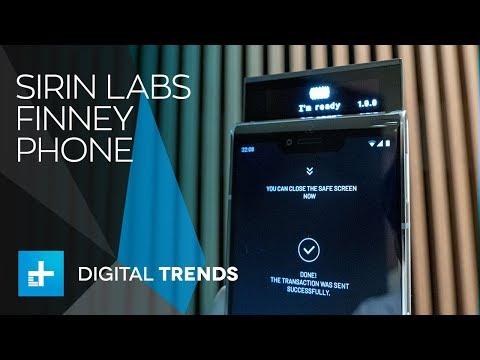 Sirin Labs Finney Phone - Hands On