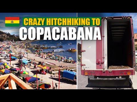 Crazy hitchhiking to COPACABANA [Bolivia] | Travel Series [S1-E12] - South America 2017