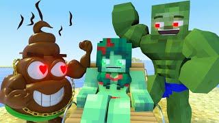 Best Love Story Minecraft Animation Life Of Zomma And Zombo  3