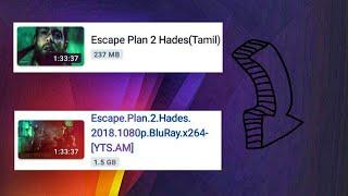 play Tamil audio track to the English movie