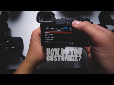 Sony A6500 Custom Settings Guide