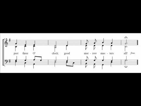 Past Three O' Clock - Traditional arr. Wood