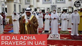 Eid Al Adha prayers performed throughout the UAE