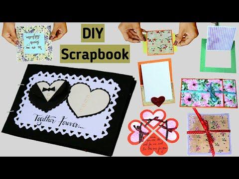 Full Scrapbook Tutorial   DIY Scrapbook   How to make a Scrapbook   Friendship Day Scrapbook  