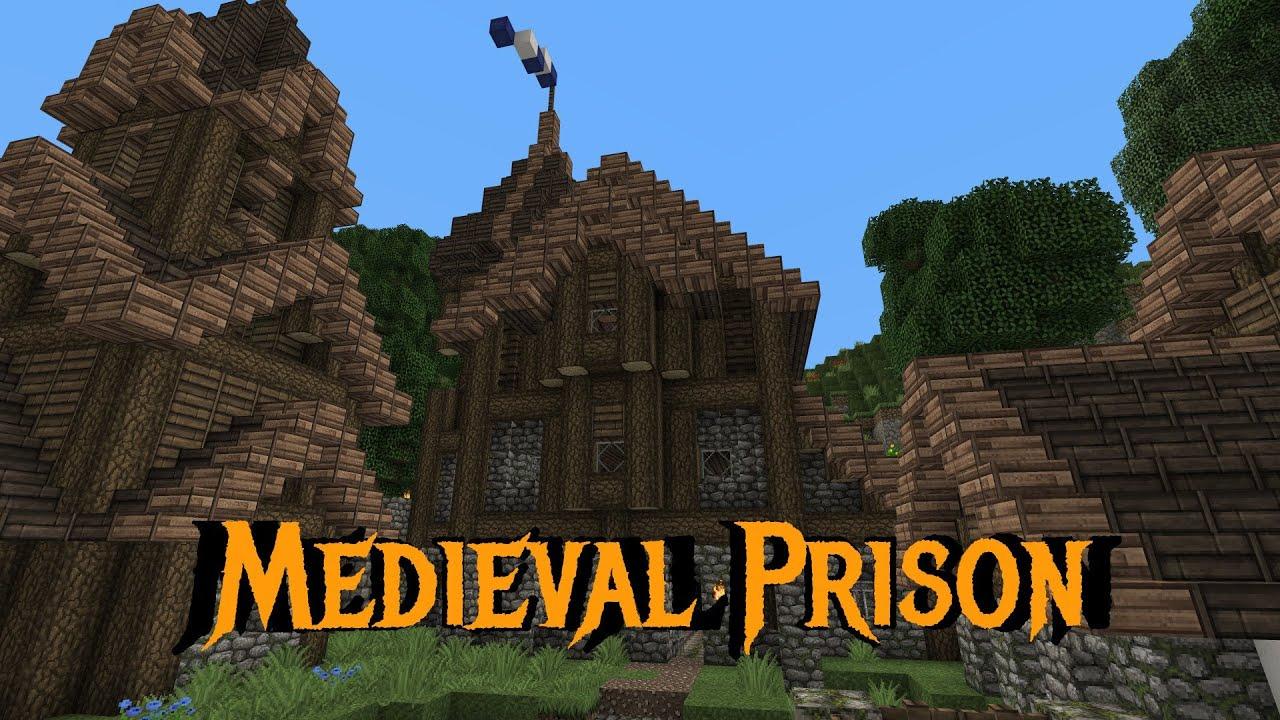 Minecraft gundahar tutorials medieval prison youtube