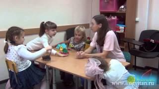Урок английского для детей 5 6 лет  полное погружение