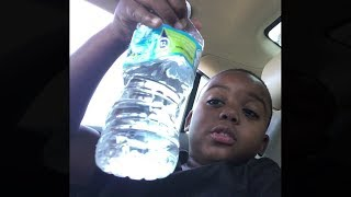 i can drink this water bottle in 1 second...