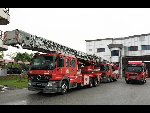 Malaysian Fire Service High Reach Emergency Response Driving Instructor Training