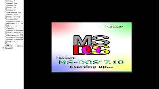 Массовое обновление (MS-DOS - Windows XP) (полная версия обновления будет на стриме)