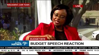 Reducing expenditure not highlighted in #BudgetSpeech2018 - BLSA