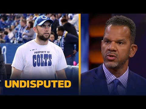 Andre Reed has no doubt Frank Reich will resurrect Andrew Luck's career | UNDISPUTED