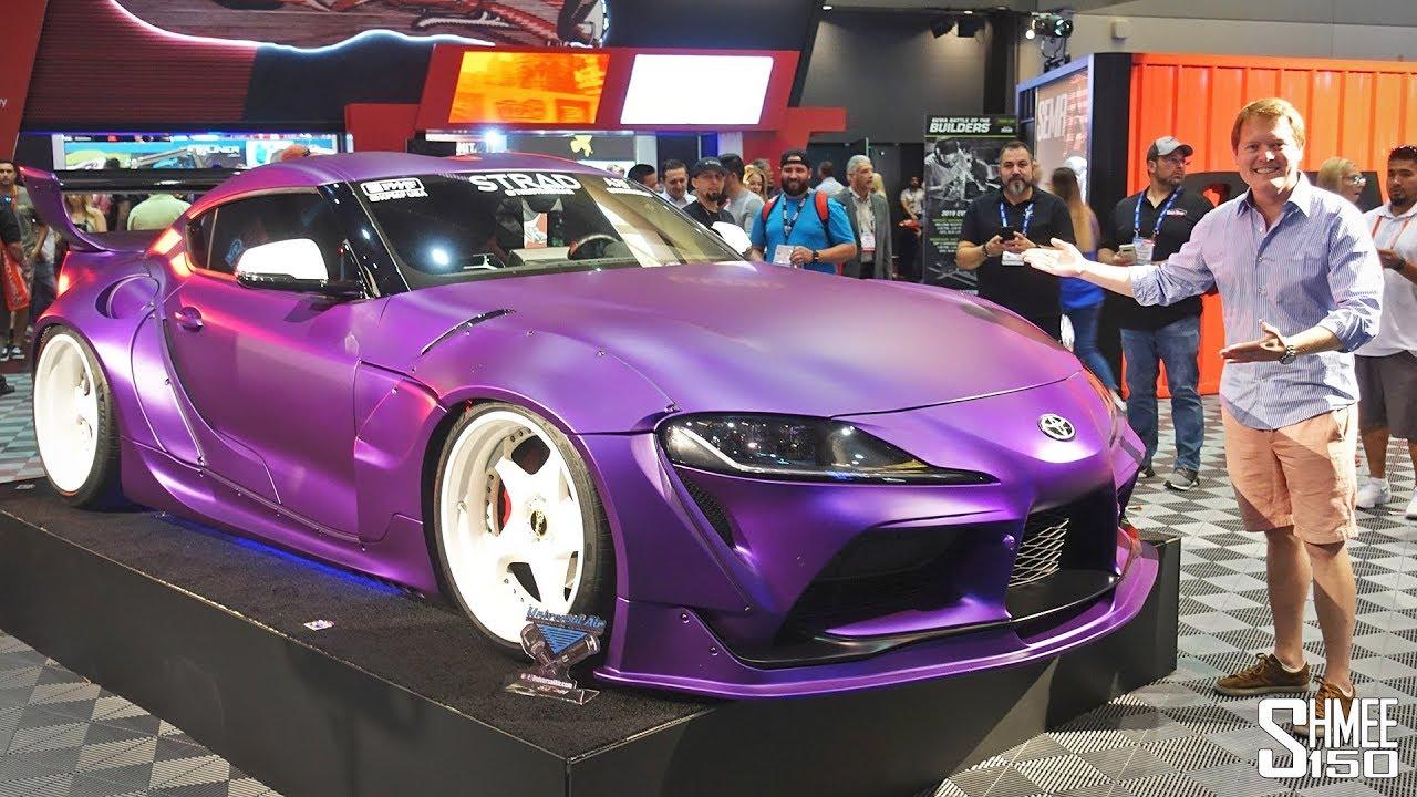 2020 Toyota Supra Purple