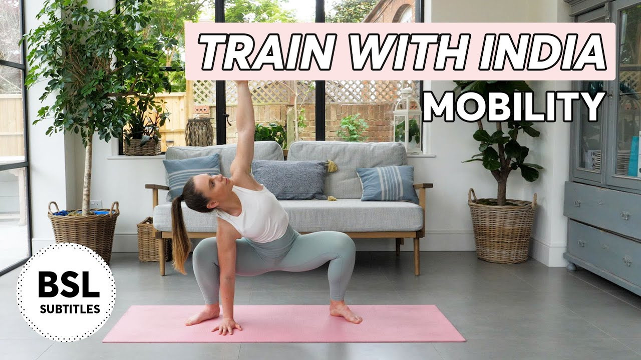 Train with India | Mobility Stretch