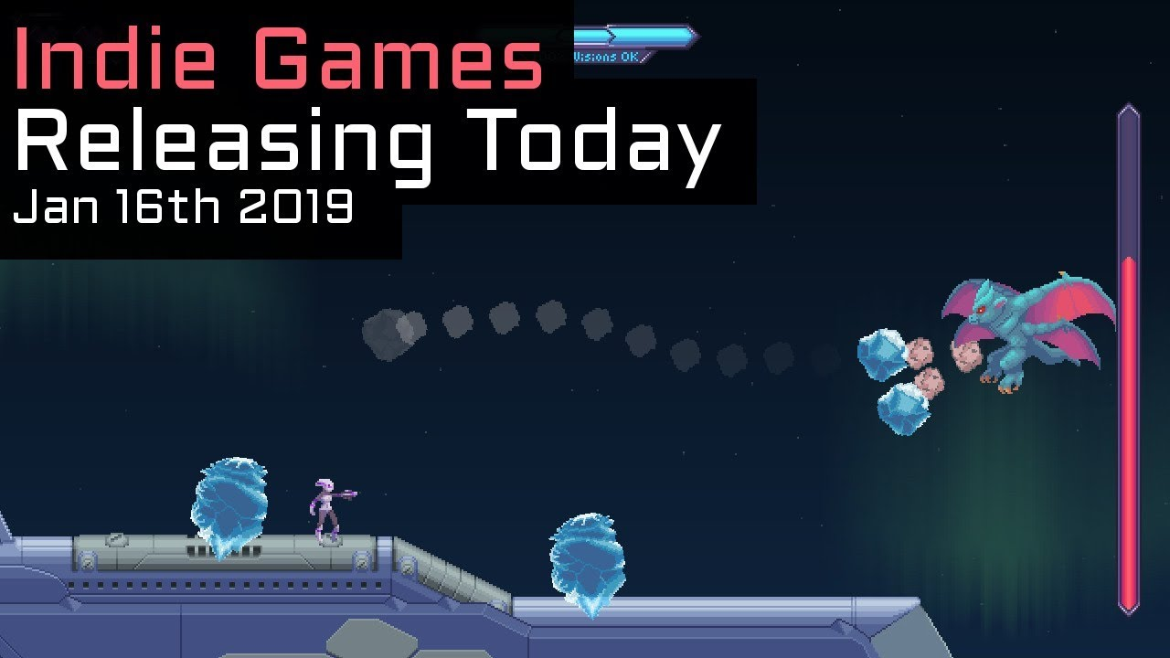 Top 3 New Indie Games Releasing Today - January 16th 2019