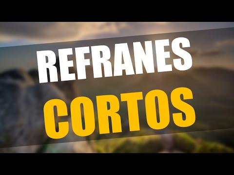 Refranes Cortos y su significado