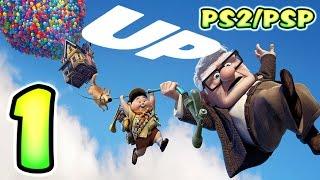 Disney Pixar's UP Walkthrough Part 1 (PS2, PC, PSP) Level 1 - Crash Landing