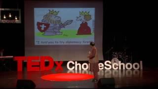 Diplomacy in Uncharted Realms   TP Sreenivasan   TEDxChoiceSchool