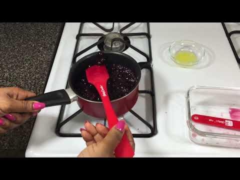 Buckwheat Blueberry Pancakes With Blueberry Sauce