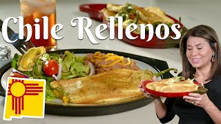 HOW TO MAKE CHILE RELLENOS: Delicious, Easy Recipe, Using Hatch Green Chile