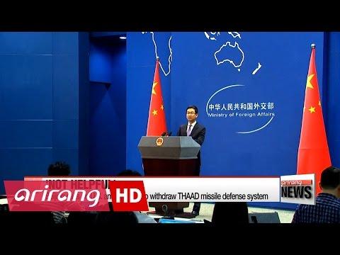 Wang Yi warns any chance of war on Korean peninsula should not be tolerated