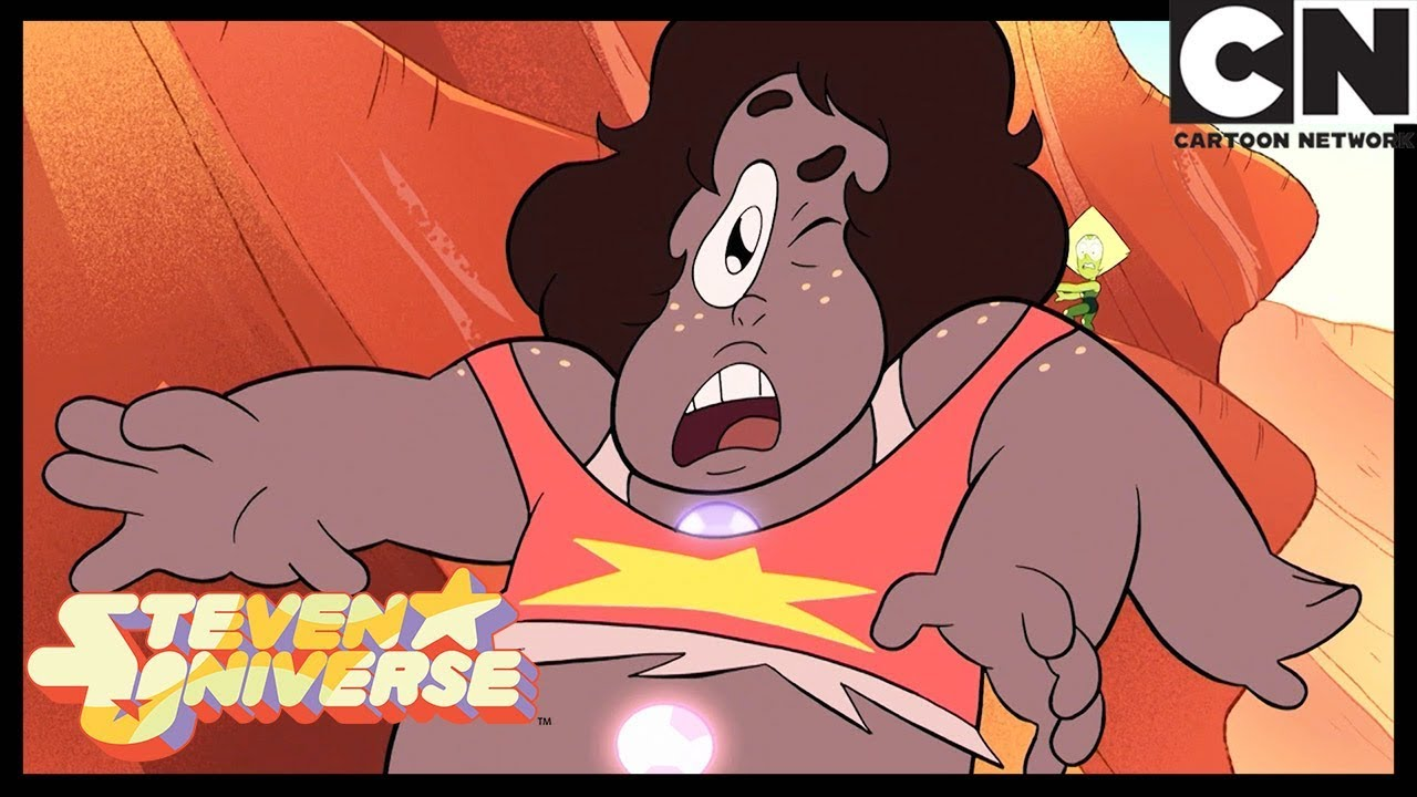 Steven Universe | Jasper Fuses with a Corrupted Gem | Earthlings | Cartoon Network