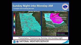 NWS Atlanta  Winetr Weather Briefing Dec-6-2018