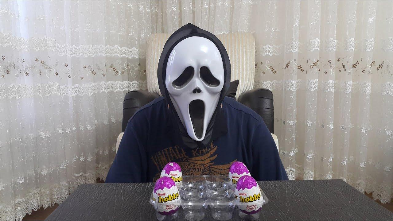 Maskeli Abi Hobby Yumurta Açma
