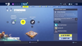 I dont have upgrades ,collection book or research (FORTNITE SAVE THE WORLD GLITCH)
