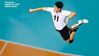 That's Beautiful! Yuji Nishida 西田 有志 with finesse vs. Russia!   Men's Volleyball World Cup 2019