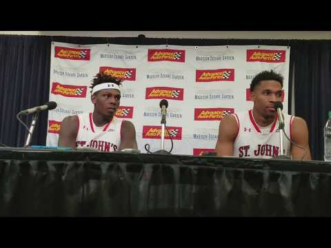 St. John's Players Ahmed, Simon Comments Post 69-59 Win Over Iona