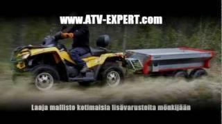 ATV-Expert Terrain pro 800 SÄHKÖHYDRAULIIKALLA (hydraulic tipping)