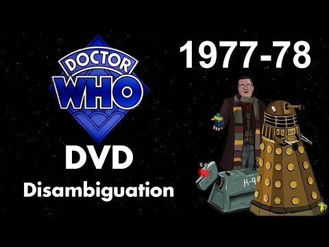 Doctor Who DVD Disambiguation - Season 15 (1977-78)
