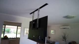 How to hide your TV in the ceiling
