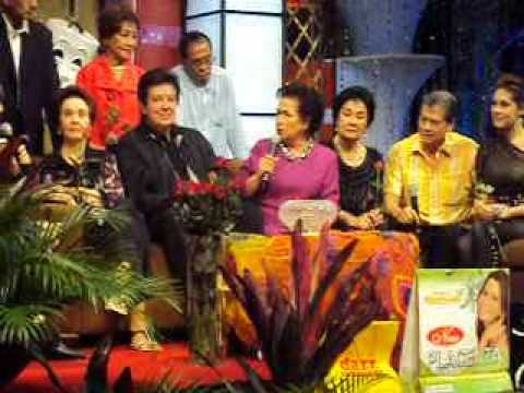 Susan-Roces' interview during the Tribute to Sampaguita & LVN Stars in Walang Tulugan